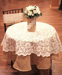 round lace tablecloth home textile off white table cloth jacquard overlays