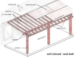 57 porch roof construction plans corrugated plastic roofing build inside diy patio cover plans 15400