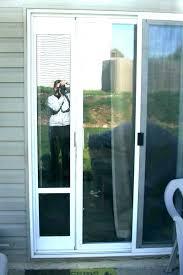 sliding glass door with dog door patio dog door dog door insert for sliding glass door