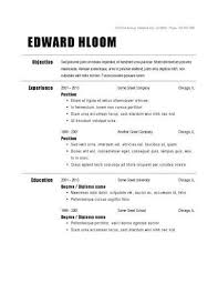Examples Of Simple Resumes Cool Basic Resume Examples Ingyenoltoztetosjatekokcom Basic Resume