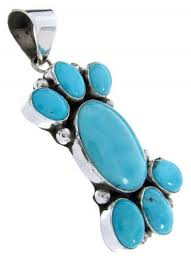 native american turquoise jewelry slide pendant ys64146 you save 124 99