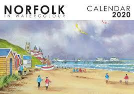 Norfolk In Watercolour 2020 Calendar