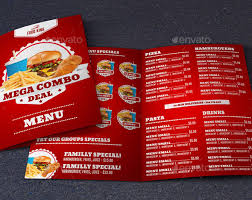 Menu Templates Design 40 Effective Psd Restaurant Menu Design Templates Web Graphic