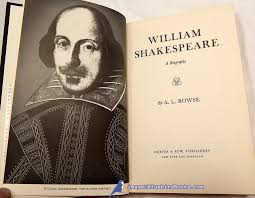 bluebird books high quality hard to used and out of print william shakespeare a biography rowse a l