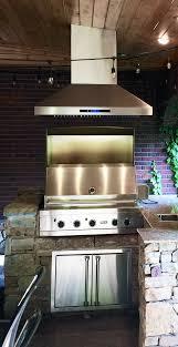 outdoor bbq range hood in beautiful gallery also kitchen ven