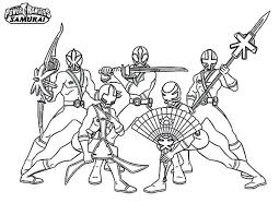 Power Rangers Coloring Page For Kids Secrets Power Rangers Coloring