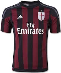 Adidas Youth Ac Milan Home Jersey
