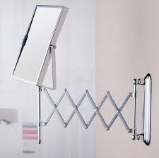 Bathroom Wall Mirror Square Folding Mirror Fashion Simple Durable