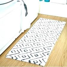 bathroom runner rugs bathroom rug runner bath runner inch bath rug runner percent cotton modern extra