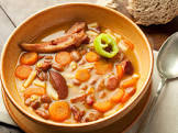 bab leves  hungarian bean soup