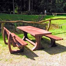 table recycled materials. Traditional Picnic Table / Recycled Plastic Made From Materials Rectangular - TRINITY U