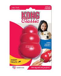 "<b>Игрушка</b> для собак <b>Kong</b> ""<b>Classic</b>"", большая, 10 х 6 см"