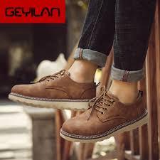 2020 <b>Autumn</b> Brand <b>Men</b> Suede Leather <b>Men</b> Shoes Oxford Casual ...