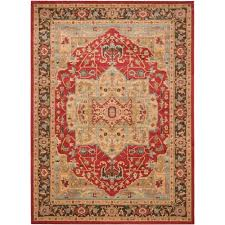 safavieh mahal natural navy 9 ft x 12 ft area rug