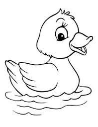 Small Picture Learning Friends Duck baby animal coloring printable from LeapFrog