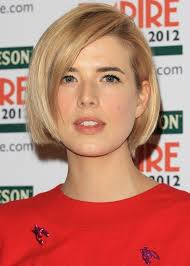 short straight hairstyles for women bob haircut agyness deyn