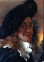 detail of the procuress c 1656 considered to be the only self portrait by vermeer courtesy wikia commons