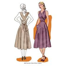 1940s Dress Patterns Unique 48s Sewing Patterns Decades Of Style Pattern Company