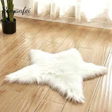 anti slip rug carpet grip underlay floor carpets bedroom soft mat pentagram shape mats sofa faux