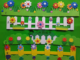 wall decor ideas with paper on wall art designs for preschool with classroom wall decoration