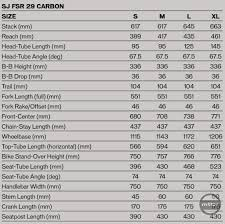 Stumpjumper 2019 Size Chart First Look 2016 Specialized Stumpjumper Fsr