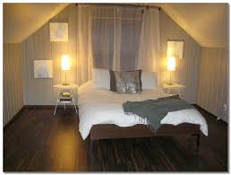 room with dark pine paneling furniture