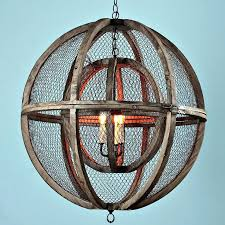 wooden orb lighting double sphere wire chandelier wooden orb pendant lighting