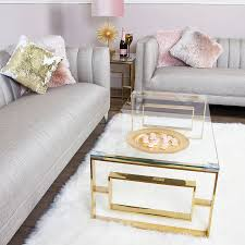 plaza gold contemporary clear glass