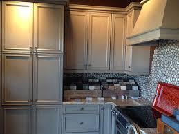 Black Walnut Kitchen Cabinets Kitchen Fabulous Antiquing Kitchen Cabinets With Glaze Builders