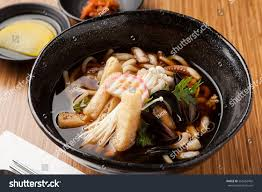 Seafood Udon Noodles Korean Food Style ...