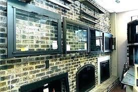 fireplace glass doors black door enclosures insert pleasant fireplace enclosures glass doors