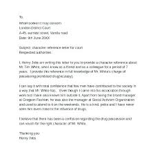 Awesome Collection Of Character Reference Letter For Ion Ate