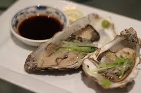 Oysters with Japanese dressing - recipe