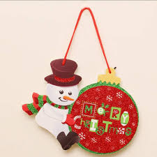 Zezkt Doorboard Weihnachtsbaum Dekoration Hängen Ornamente