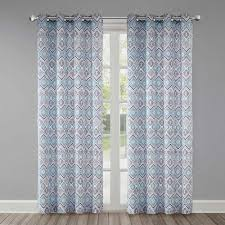 Bed Bath And Beyond Echo Design Echo Triana Grommet Top Window Curtain Panel Bed Bath