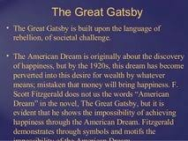 essay on the great gatsby and the american dream transportation essay on the great gatsby and the american dream