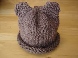 Baby Hat Pattern Mesmerizing Fiber Flux Free Knitting PatternBaby Bear Hat For Preemie