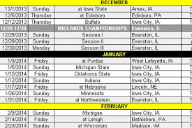Nebraska Depth Chart 2013 Iowa Announces 2013 14 Wrestling Schedule Black Heart Gold