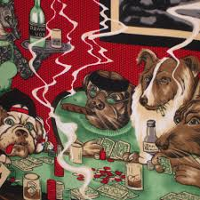 dogs playing oil painting reion by cassius