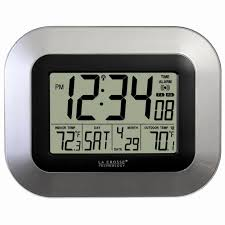 gallery of timex atomic digital wall clock