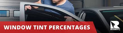 Window Tint Percentages Tint Percentages Vlt Vlr