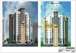 Проект ти этажного жилого дома в г Калуге мгсу pgs  331 Проект 17 ти этажного жилого дома в г Калуге мгсу