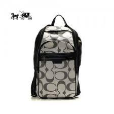 Quick View · Coach Backpacks Bleecker Monogram Medium Grey Outlet Sale VIP  Shop ...