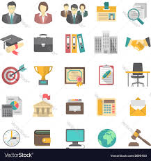 Resume Icons Resume Icons Royalty Free Vector Image VectorStock 30