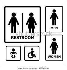 Bathroom sign vector Gender Restroom Sign Vector Yawebdesign Vector Images Illustrations And Cliparts Restroom Sign Vector