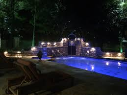 frisco landscape lighting and pool wall lights