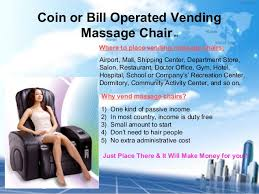 Massage Chair Vending Machine Business Fascinating Interesting 48 Vending Massage Chairs Decorating Design Of