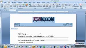 creating letterhead in word quickpart letterhead mov youtube