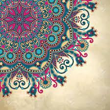 Mandala Design Background Stock Vector Mandala Art Mandala Mandala Drawing