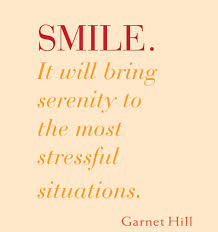 Serenity Quotes Beauteous Smile It Will Bring Serenity To The Most Stressful Situations
